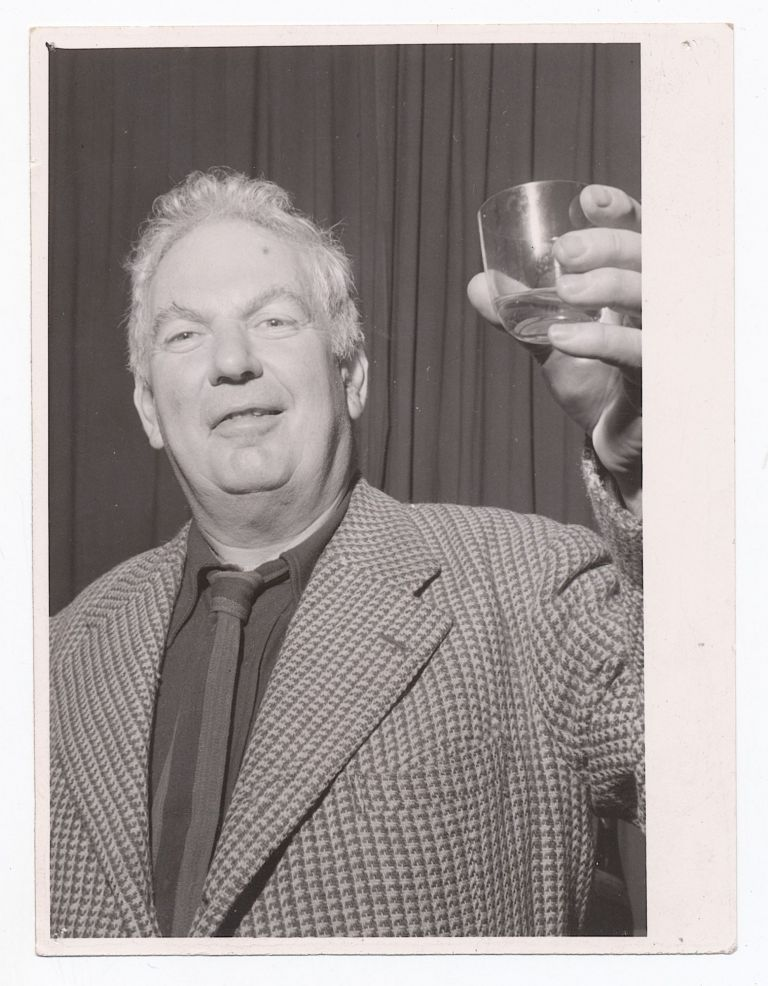 Calder Photograph by Umbo, Silver Gelatin Silver print, 12mo ( 2 x 4 inches), photographer's stamp on verso. ALEXANDER CALDER, UMBO.