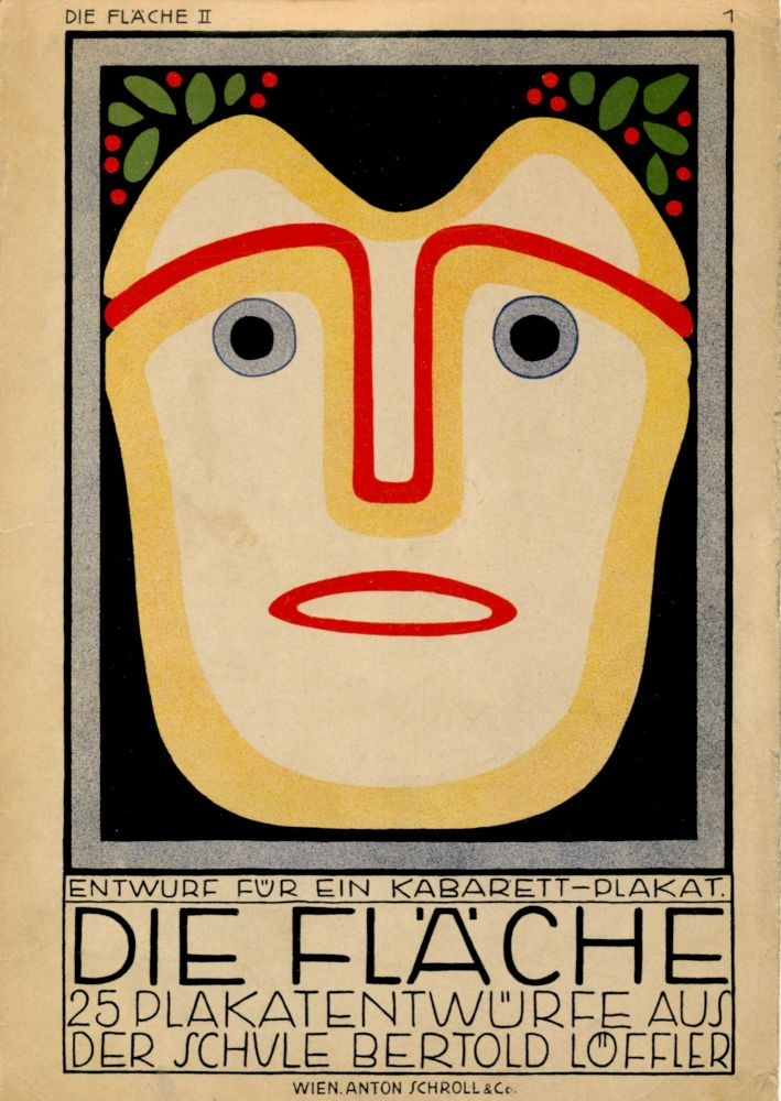 """Two vibrant prints from """"Die Fläche"""" Volume II published in 1910. """"DIE FLÄCHE."""