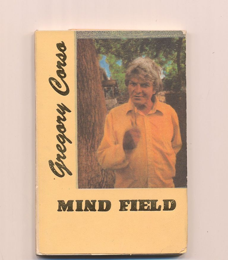 """""""Mind Field"""", Signed Copy Letter """"J"""", 1989, Hanuman Books, Madras and New York. GREGORY CORSO."""