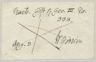 Autograph Document Signed, 12mo, n.p., August 3, dated 1825 on verso.