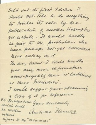 "Autograph Letter Signed, 8vo, 2pp., on personalized stationery, ""Greenfield"" Manor Road, Sidmouth, S. Devon, England, February 15, 1937."