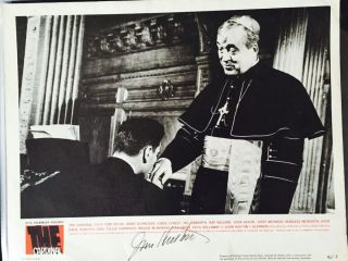 "Signed Lobby Card from the 1964 film, ""The Cardinal,"" based on the life of Cardinal Francis Spellman"