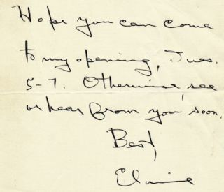 Typed Letter Signed and Autograph Letter Signed, n.d., New York City