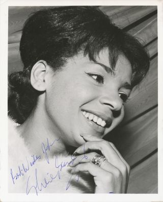 Signed Photograph, mid 1950s, 4to, n.p., n.d. SHIRLEY BASSEY.