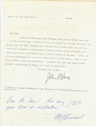 Typed Letter Signed, 4to, Hyattsville, Maryland, April 27, 1974.