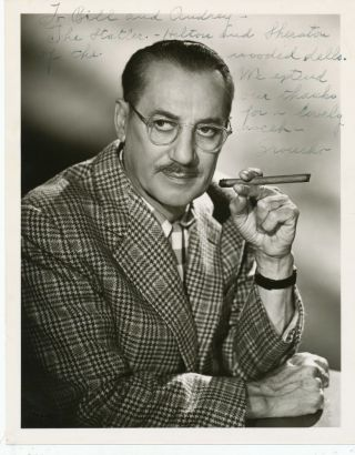 Photograph Signed and inscribed, ca 1950s. GROUCHO MARX, Julius Henry
