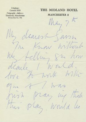 Autograph Letter Signed to author and director, Garson Kanin Postmarked May 7, 1965, 5 separate...