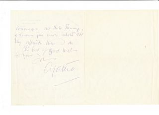 Autograph Letter Signed, 2pp on one folded 8vo sheet, Walingford, June 29, n.y.