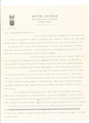 Typed Letter Signed with annotations, with handwritten post script also signed, 2 separate 4to pp...