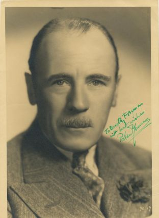 Excellent vintage 8vo Original Photograph Signed, n.p., ca. 1940. ROLAND YOUNG