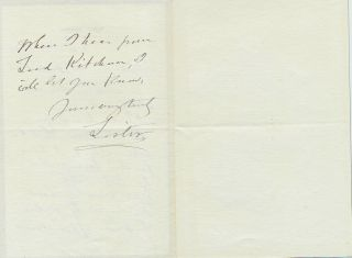 Autograph Letter Signed geologist Archibald Geikie, 2pp on small 8vo black bordered mourning...