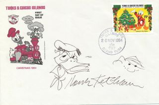 Signed Original Cartoon Sketches by Hank Ketcham of his most popular character, Dennis The Menace...