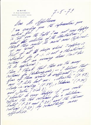 Autograph Letter Signed, in English, 2 separate folio pp with a 3 separate page folio addendum,...