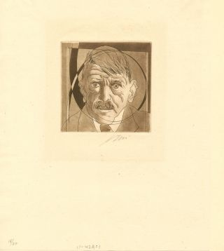 Original Color Etching on China Paper, Signed in pencil, numbered 18/30; image measures 4 x 5...