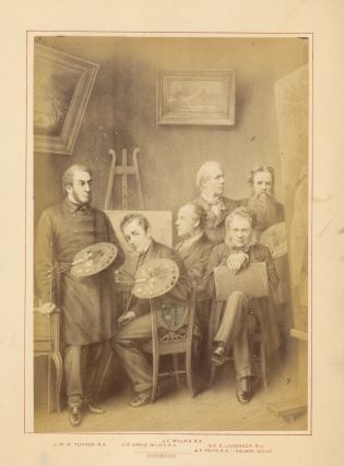 "Part I offered here includes five albumen prints mounted to boards, of ""Orators, Statesmen,..."