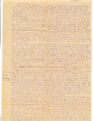 Important Autograph Letter Signed, the first in the T. E. Lawrence and Henry Williamson...