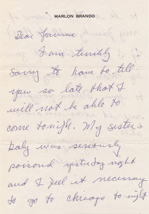 Scarce Autograph Letter Signed, 2 pp on one 4to sheet, n.p., n.d.