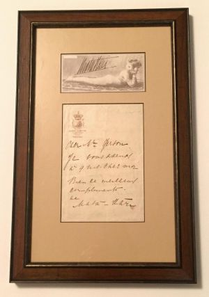 "Autograph Letter Signed, in French, 2 pp one one sheet of on ""Majestic Hotel"" stationery, Paris, n.d. MATA HARI, Margaretha Geertruida, Grietje Zelle."